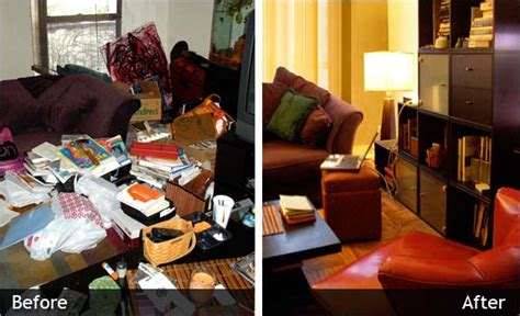 before and after organizing unique gift certificate chaos commandos professional