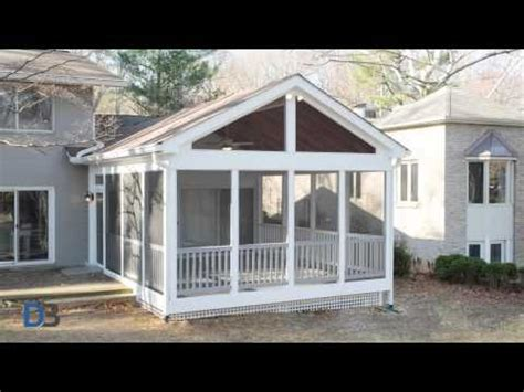 how to build a screen porch it s not inside but it is