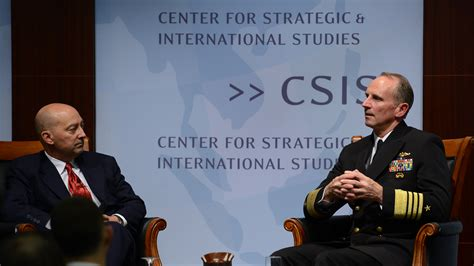 search center for strategic and international studies maritime security dialogue launch center for strategic