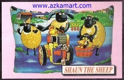 Balmut Selimut Boneka Shaun The Sheep balmut barcelona balmut gulmut selimut murah