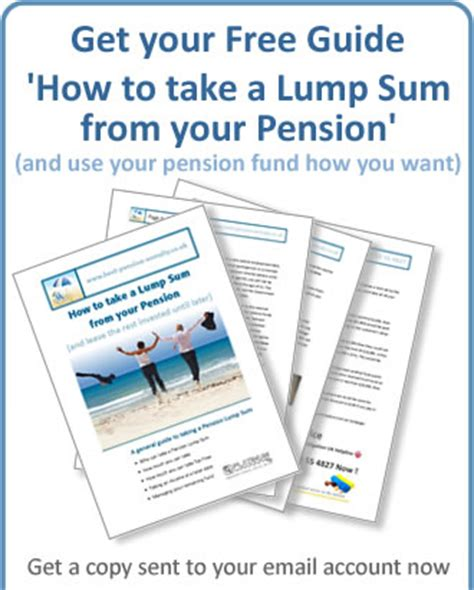 up your retirement a guide to make your financial dreams a reality books pension lump sum tax free from pension