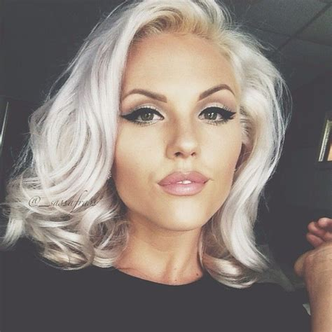 short silver blonde hair 470 best on my way to gray images on pinterest