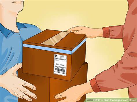 3 ways to ship packages from home wikihow
