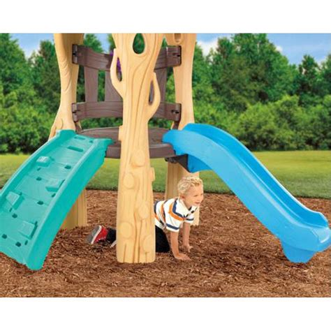 little tikes swing slide set little tikes tree house swing set climber slide buy