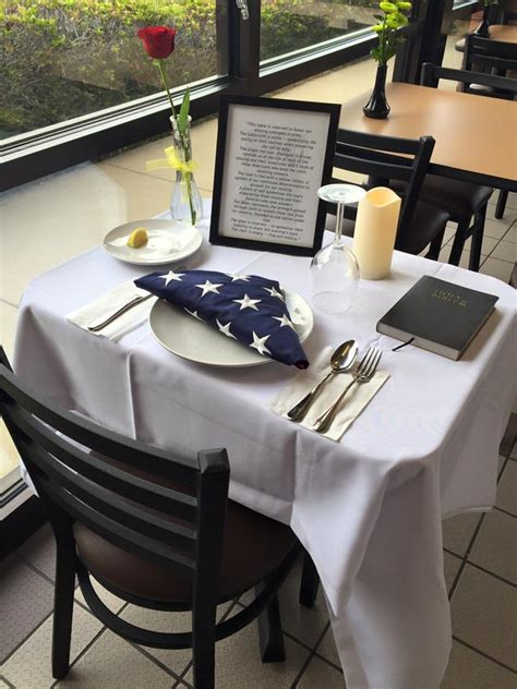 fallen soldier table tx area fil a honors fallen soldiers with table setting memorial klfy