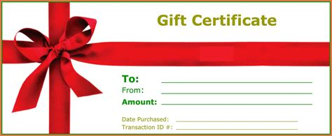 your own gifts create your own gift certificate bio exle