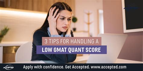 The Lowest Score Get Into Pepperdine Time Mba by 3 Ways To Get Into B School With Low Gmat Quant Score