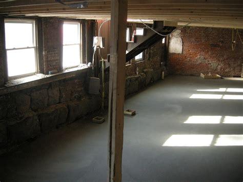 redbrickbuilding we a basement subfloor and some