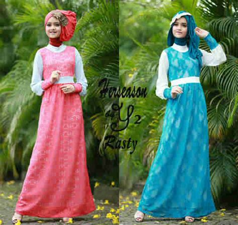 Rere Maxi Dress Gamis Muslim fashion