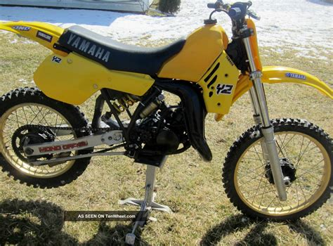 vintage yamaha motocross bikes 1984 yamaha yz125 yz 125 ahrma vintage motocross dirt bike