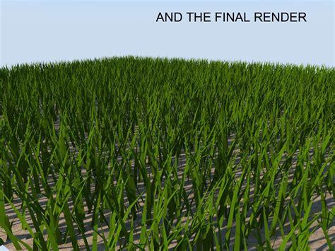 sketchup vray grass rendering tutorial making grass using sketchup fur plugin