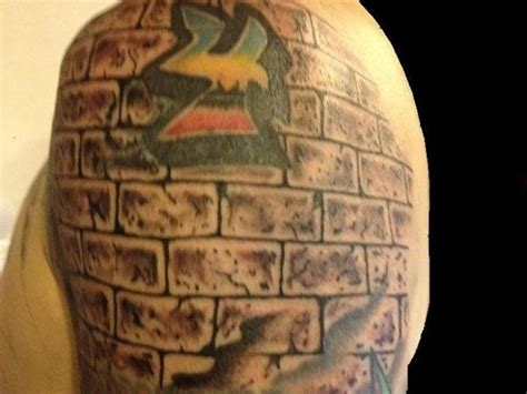 brick wall tattoo designs brick wall teamroom13 ideas