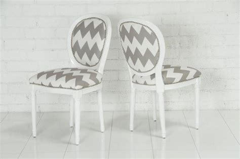 Chevron Dining Chair Going Gaga For Chevron Peoniesandpancakes