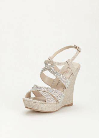 Fufu Gold Sepatu Wedges Wanita High Heels Shoes high heel wedge sandal with embellishment style balle8 sandal wedges embellishments