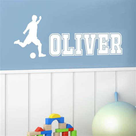 personalised name wall stickers uk personalised boy name wall stickers by wall quotes