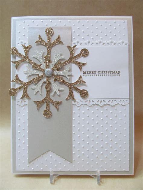 Handmade Merry Cards - savvy handmade cards snowflake merry card