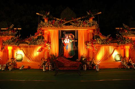 decoration themes shubh vivaah the classic wedding planners