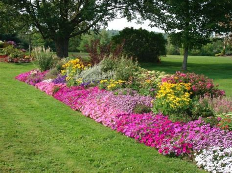 borders for flower beds rock borders appeal of your house rock flower bed