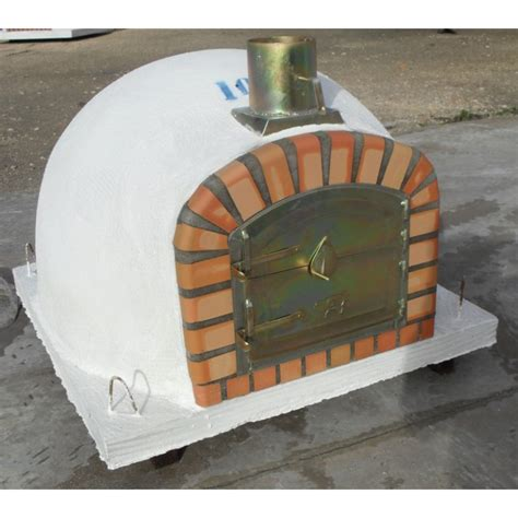 custom made clay oven with chimney