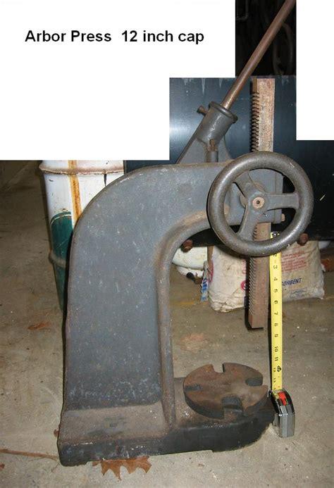 Catok Putar Hevy Duty 6inci grainger arbor press block