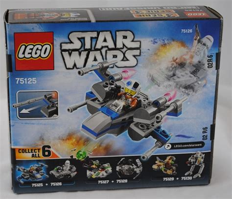 Lego Wars 75125 lego review wars resistance x wing fighter