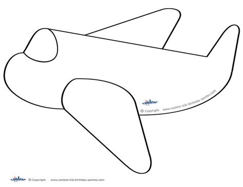 airplane cut out template 79 best images about airplane birthday printables on