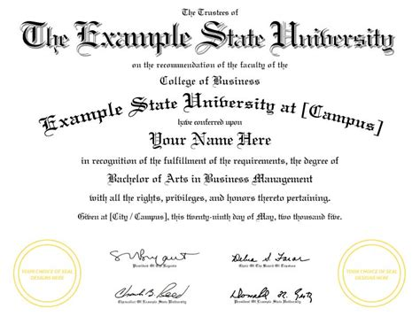 college degree template september 2014 rep