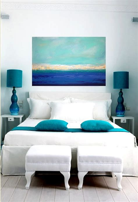 blue accent bedroom bedrooms blue accents and mediterranean sea on pinterest