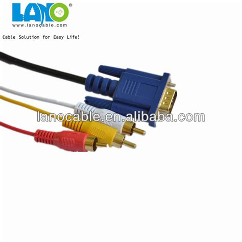Cable Hdmi 10m 777 by Ultra High Definition Vga To White Yellow Rca Av