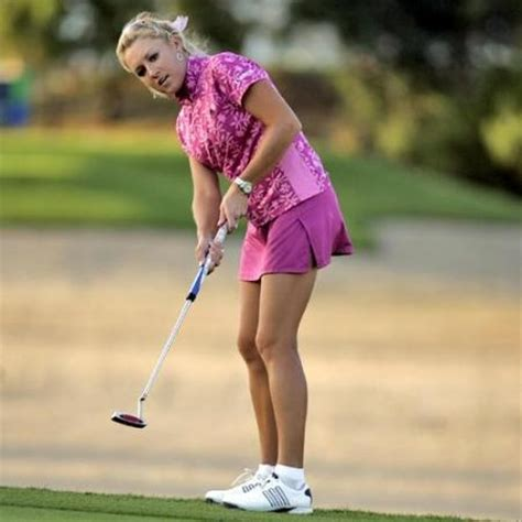 optimal swing clinic sexy natalie gulbis and golfers on pinterest