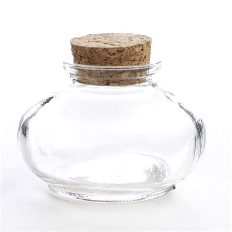 Decorative Glass Containers by Small Clear Glass Apothecary Bottle Decorative