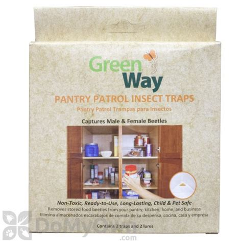 Pantry Bug Traps by Greenway Pantry Patrol Insect Trap