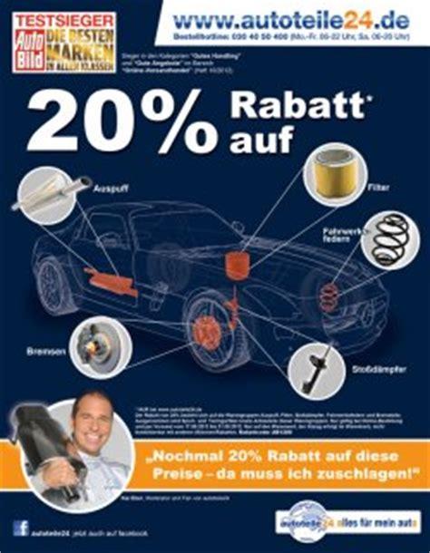 Auto Teile 24 by Autoteile24 Gibt 20 Rabatt Auf Auspuff Bremsen