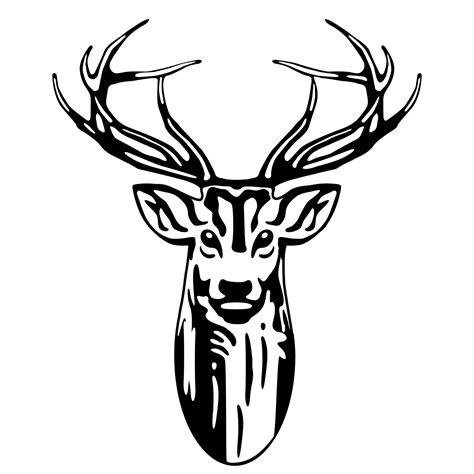 tribal pattern deer tribal deer head tattoos cliparts co