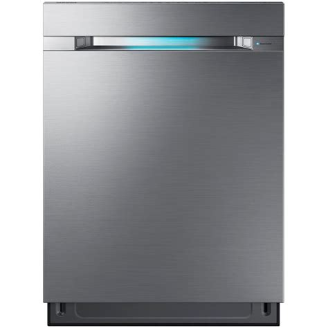 Samsung Dishwasher Samsung 24 In Top Tub Waterwall Dishwasher In Stainless Steel With 3rd Rack And