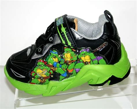turtle light up shoes mutant turtles light up sneaker shoe size 7