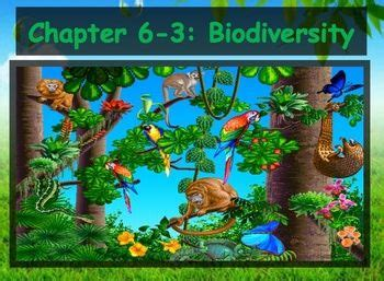 section 6 3 biodiversity biology discus and note on pinterest