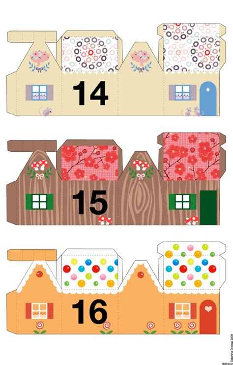printable advent calendar house tambouille 187 papier