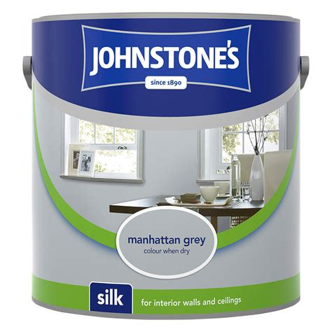 johnstones paint vinyl silk emulsion manhattan grey