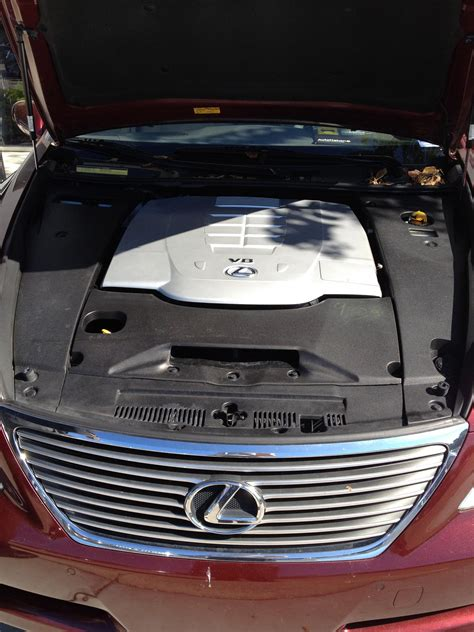 small engine service manuals 2008 lexus ls on board diagnostic system ls 460 2008 engine compartment club lexus forums