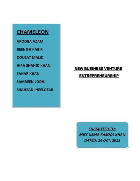 Jennifers New Business Venture by New Business Venture