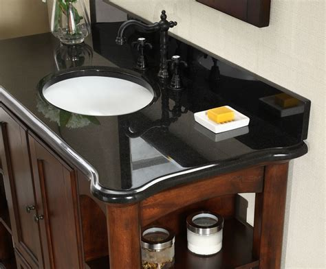 48 inch black bathroom vanity antique wyncote 48 inch bathroom vanity black granite