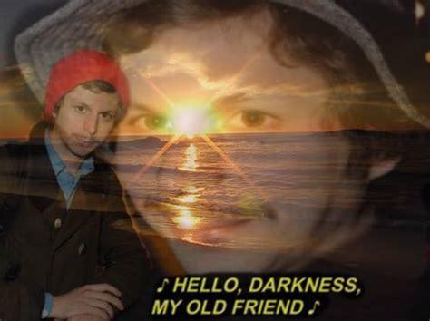 Michael Cera Meme - hello darkness my old friend meme memes