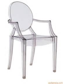 louis ghost fauteuil kartell design en polycarbonate