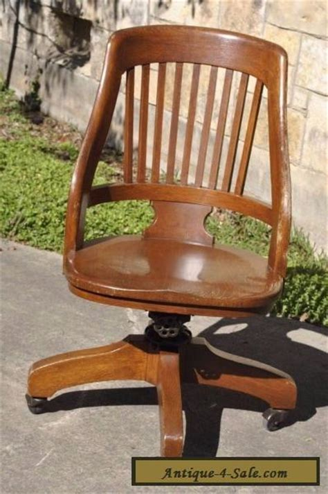 vintage oak office swivel chair vintage milwaukee chair co antique oak wood swivel desk