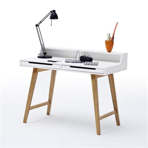 lap desk with legs coupar laptop desk in matt white with solid beech legs