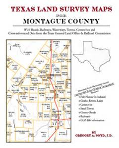 map of montague county montague land survey maps for montague county
