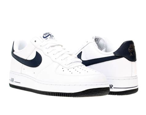 Nike Air One Shoes For nike air 1 low s basketball shoes 488298 105 white obsidian sneakers4u