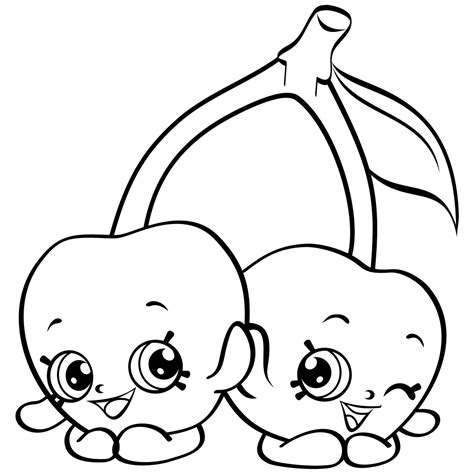 Shopkins Coloring Pages Best Coloring Pages For Kids Pictures To Print For