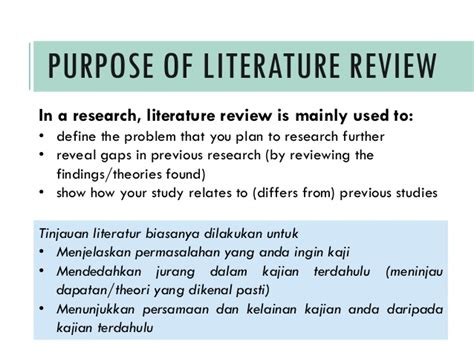 Contoh Literature Review Sistem Informasi by Writing A Literature Review A Guide